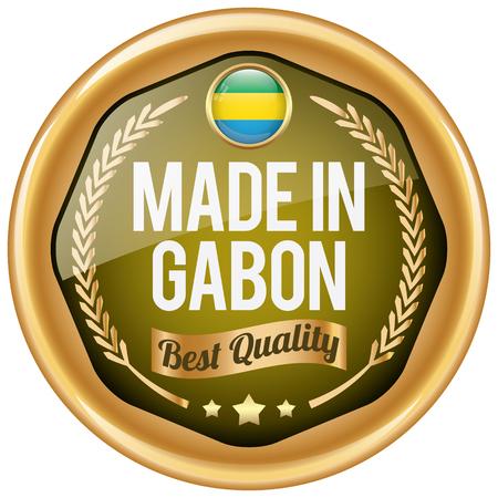 gabon: made in gabon icon
