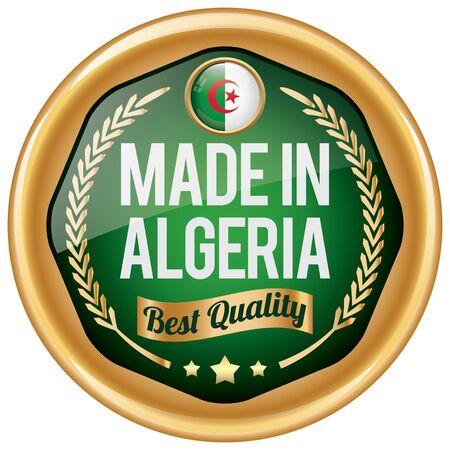 algeria: made in algeria icon