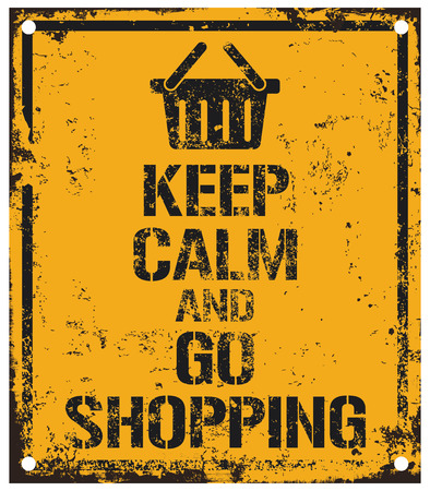 go to the shopping: keep calm and go shopping