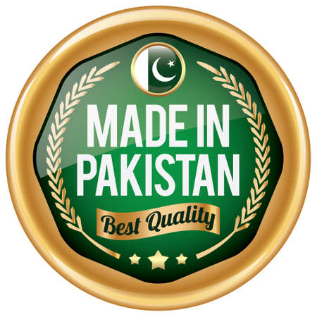 pakistan flag: made in pakistan