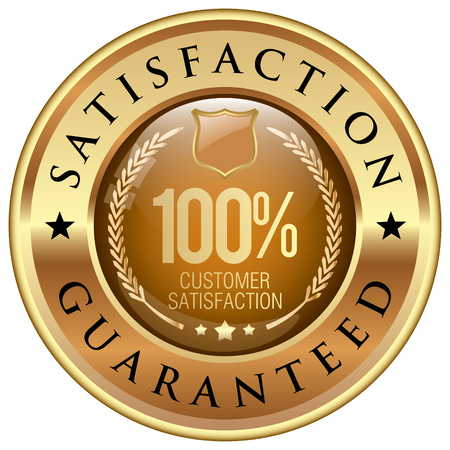 Zufriedenheitsgarantie icon Standard-Bild - 59695033