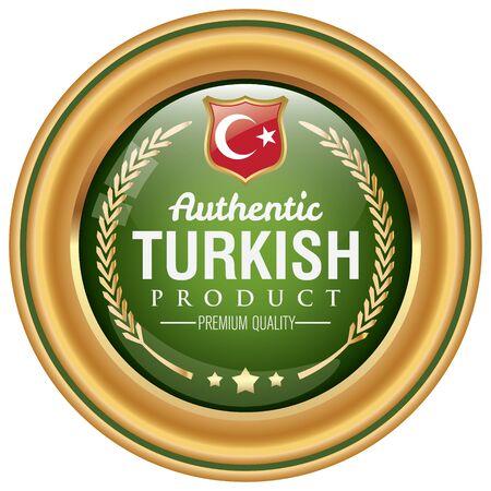 anatolian: turkish product icon Illustration