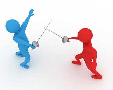 duelling: duelling men