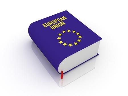 european union book 版權商用圖片 - 63400368