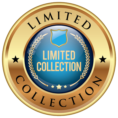 limited: Limited Collection badge Illustration