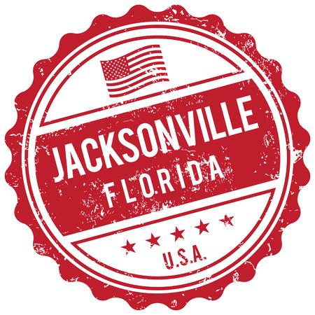jacksonville: Jacksonville Florida stamp