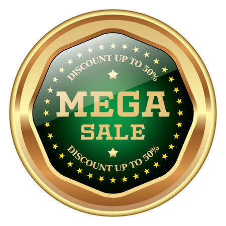 retail sales: Mega Sale icon