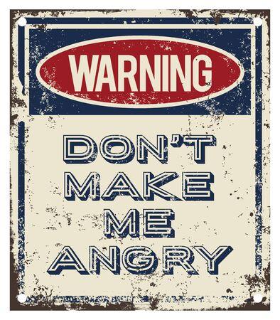 angriness: Dont Make Me Angry Illustration
