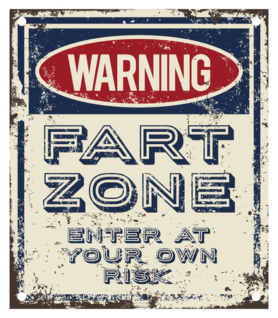 fart: Fart Zone warning sign
