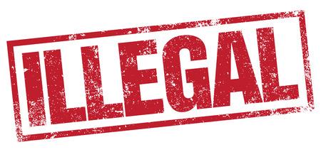 Illegal stamp