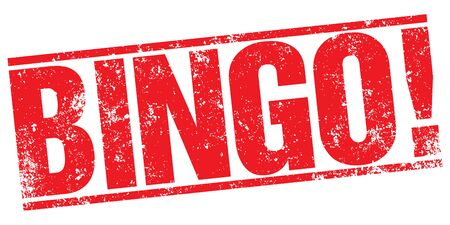 sel: Bingo stamp