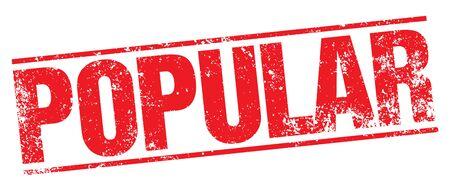 popularity popular: Popular stamp