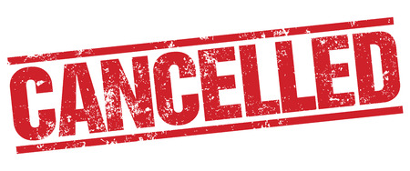 cancellation: Cancelled stamp