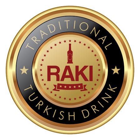 トルコのラキ バッジ