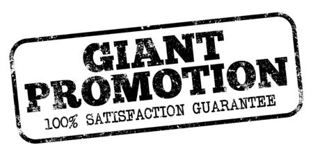 Giant Promotion Stamp