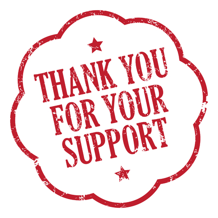 Bedankt voor je ondersteuning
