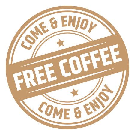 Timbro di caffè gratis