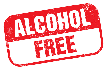 Alcohol Free Stamp