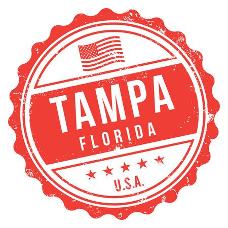 Tampa Florida Stamp