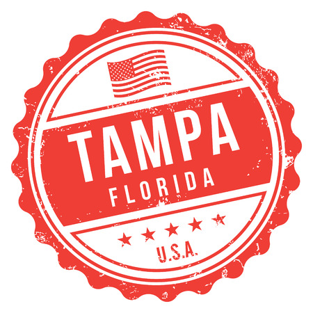 Tampa Florida Stamp