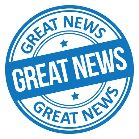 Great News Stamp Vectores