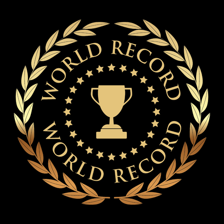 World Record Golden Banner