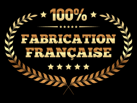 French Made Banner in French Illustration
