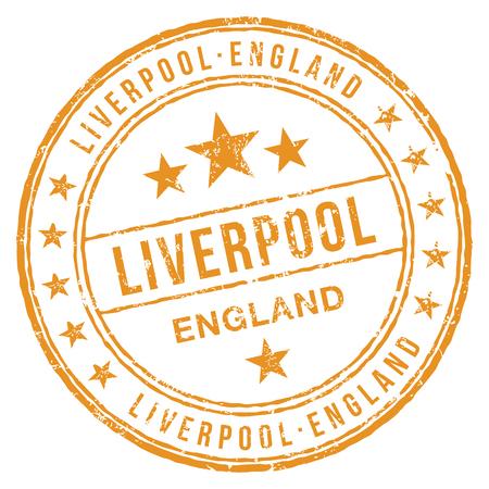 Liverpool England Stamp