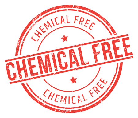 Chemical free red stamp