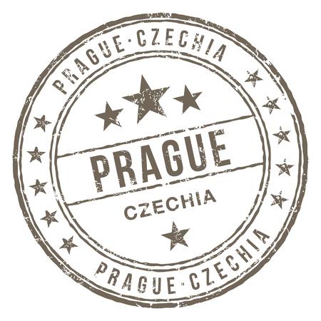 Prague Czechia Stamp