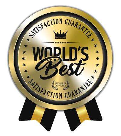 Worlds Best Badge