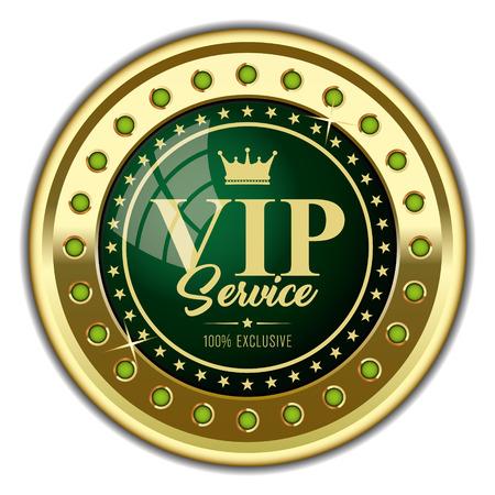 VIP Service Badge