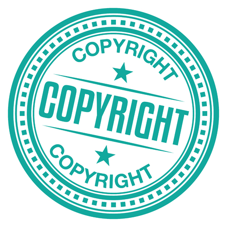 Copyright Stamp Illustration