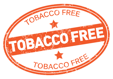 Tobacco Free Stamp