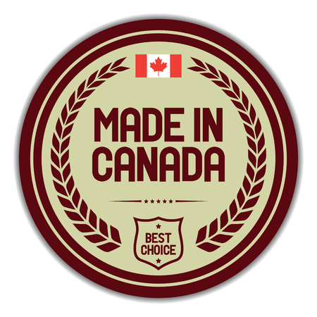 Made in Canada.