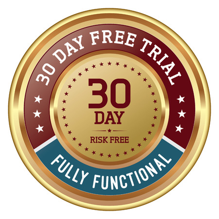 30 Day Free Trial. Golden Badge.
