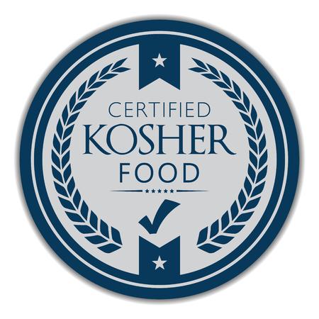 Certified Kosher Food Label