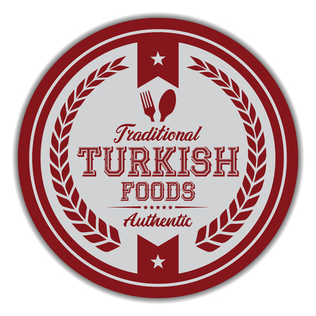 Turkish Foods Label