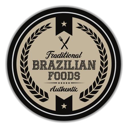 Brazilian Foods Label