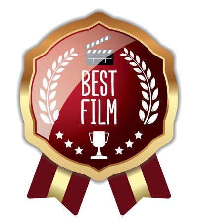 Best Film Badge