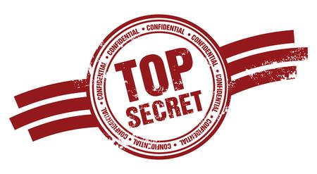 Timbro top secret Vettoriali