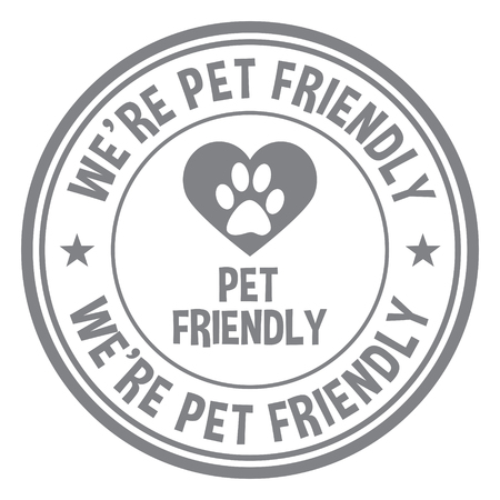 We're Pet Friendly.