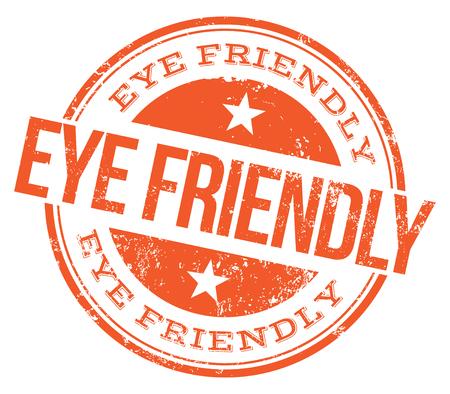 Eye Friendly Stamp