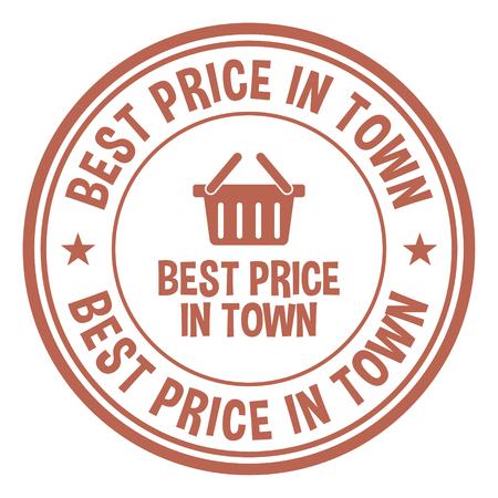 Best Price In Town Reklamní fotografie - 124243067