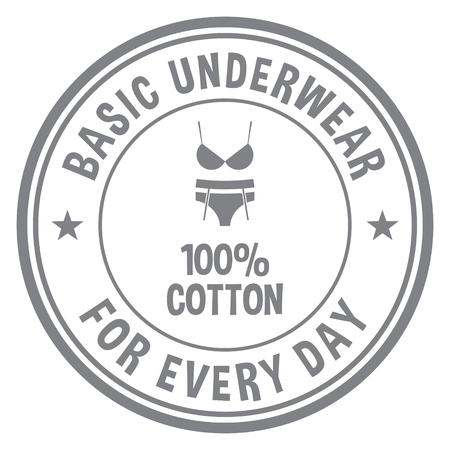 Basic Underwear Stamp