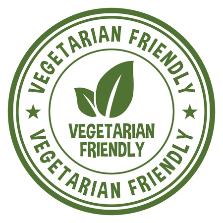 Vegetarian Friendly. Illustration