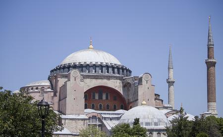 Hagia Sophia, Istanbul, Turkey Editorial