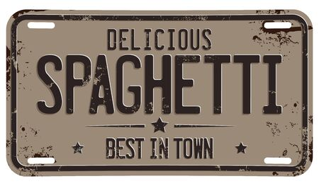 Delicious Spaghetti. Best In Town.