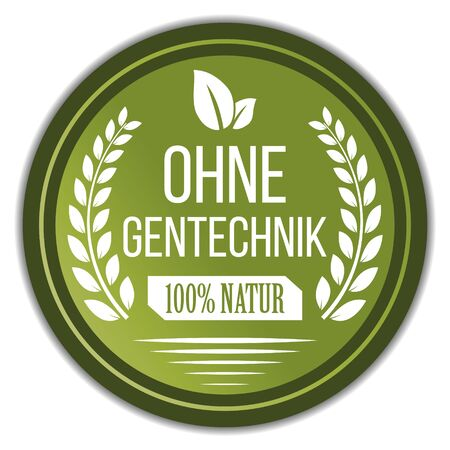 Non Gmo (Ohne Gentechnik) Label in German
