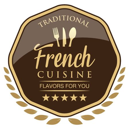 French Cuisine Label